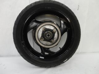 Honda ST1300 Rear Wheel Rim, Tire, Rotor, ABS Sensor Ring, & Axle 2151
