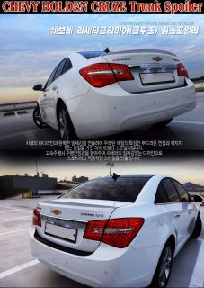 2012 Chevy Holden Cruze Rear Trunk Lip Spoiler Lacetti Premiere