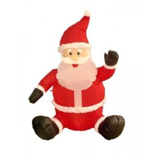 BZB Goods 4 Christmas Inflatable Sitting Santa Claus 100025