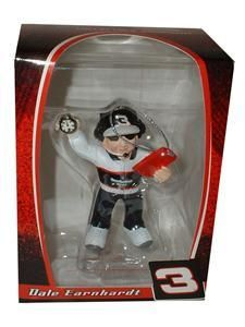 Dale Earnhardt 3 NASCAR Figurine Christmas Ornament