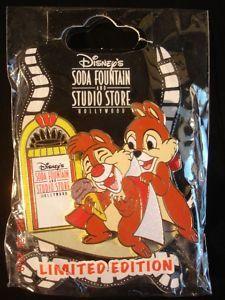 Disney Pin Jukebox Singing Chip Dale Ice Cream Cone LE300
