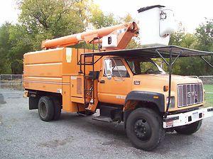 Bucket Truck Forestry Truck Chip Truck Under CDL