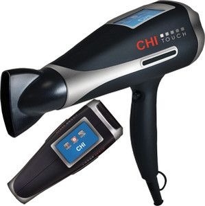 CHI TOUCH HAIR DRYER THE WORLDS FIRST TOUCH SCREEN HAIR DRYER BRAND