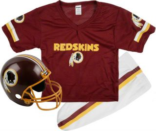 Washington Redskins Kids Youth Football Helmet Uniform Set