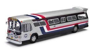 Corgi Chicago Transit Authority Fishbowl Bus US 54319 GM5300 Fishbowl