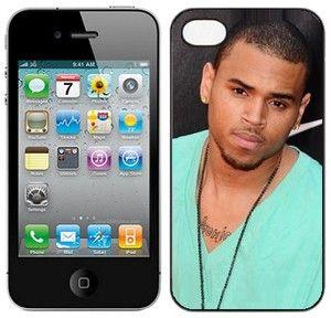 CHRIS BROWN hard case fits iphone 4 4s mobile phone cover NEW