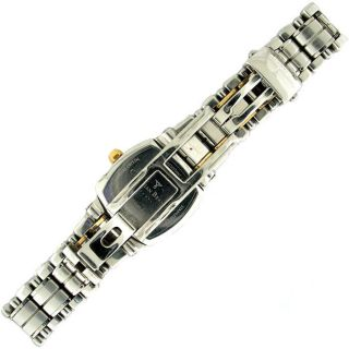 Christian Bernard Memory Ladies Stainless Steel 18K Gold Diamond Watch
