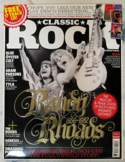 CLASSIC ROCK March 2012 + CD RANDY RHOADS 1956 1982 Untold Story OZZY