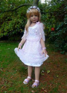 Spring by Monika Levenig Masterpieces Dolls 42 Life Like Toddler Girl