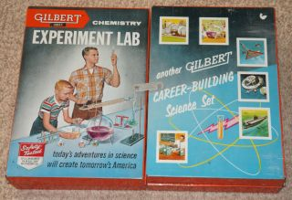 Experiment Lab w Original Contents Full Bottles Chemistry Set