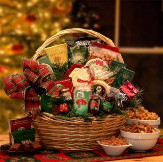 Christmas Gift Baskets Holiday Celebrations Large Holiday Gift Basket