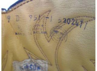 Mason CHIPPEWA Falls Mens Leather Cowboy Boots Sz 9D