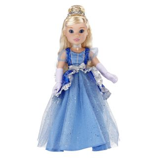 Princess Me Diamond Edition 18 in Cinderella Doll Top Toy 2012
