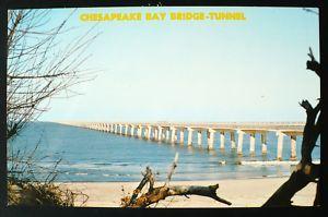 1960s Chesapeake Bay Bridge Tunnel Virginia Beach