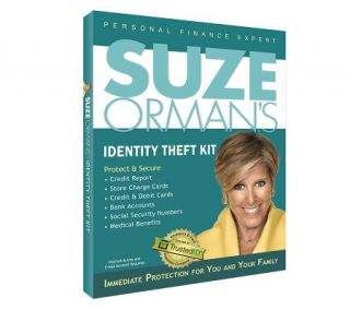 Suze Ormans Identity Theft Protect and Secure Kit   F09650