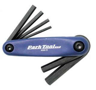 Park Tool Folding Allen Key Set