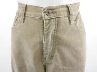 you are bidding on a pair of christopher blue tan khaki corduroy pants