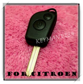 Citroen Saxo Xsara Picasso Berlingo Dispatch 2 Button Remote Key Fob