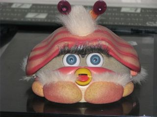 2001 FURBY SHELBY INTERACTIVE TALKING TOY TIGER ELECTRONICS WORKS