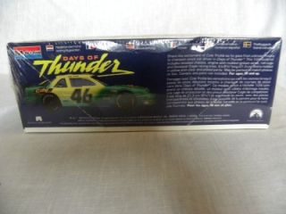 days of thunder 46 chevy lumina stock model car kit
