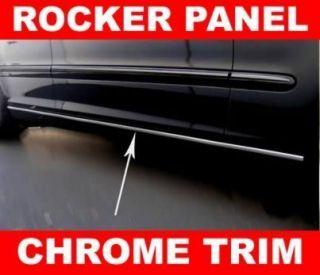 Chevy Avalanche Silverado SSR Chrome Rocker Panel Trim Molding
