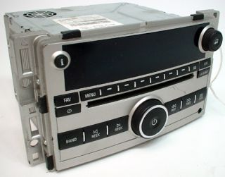2008 Chevy Malibu Factory Stereo Am FM Radio with CD  Compatible