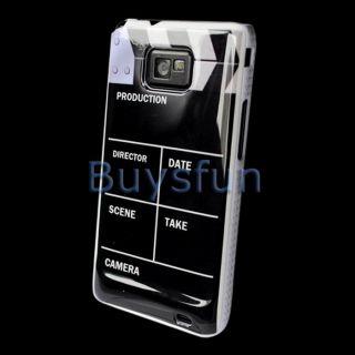 Clap Clapper Board Slate Movie Cut Hard Case Cover for Samsung Galaxy