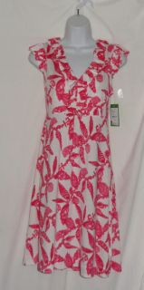 Lilly Pulitzer Pink Fallin in Love Clare Dress M