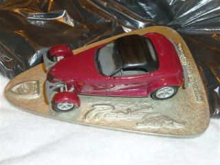 CHRYSLER PLYMOUTH MOPAR PROWLER DIE CAST POND CONNER AVENUE FACTORY