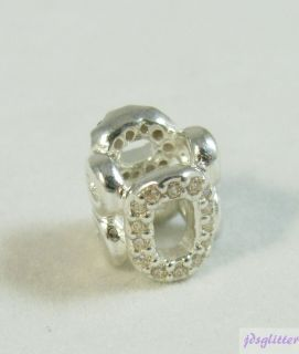 Pandora Circle of Friends with CZ Charm 790445CZ New