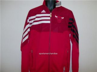 Chicago Bulls NBA Adidas Officially Licensed Warm Up Jacket   XXL