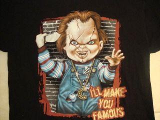 Chucky Childs Play Horror Movie Getto ghetto Boys rap gangster T Shirt