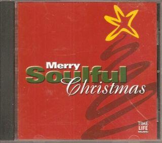 Time Life Merry Soulful Christmas CD Otis Redding Lou Rawls Gladys