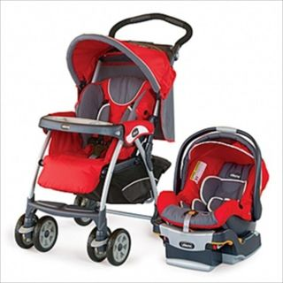 Chicco Cortina KeyFit 30 Travel System Stroller Fuego