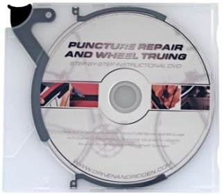 Movies Road Bike   Punctures & Wheel Truing DVD