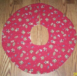 Men Muslin Desgin Handmade Christmas Tree Skirt
