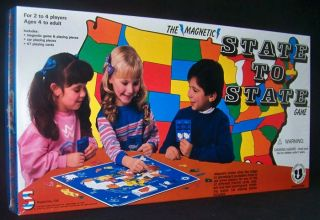 New United States Magnetic Board Game USA Children