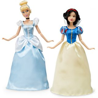 Dolls Cinderella Rapunzel Belle Jasmine Mulan 12 10 PC Set BNIB