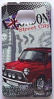 London City Symbol Car Big Ben Hard Back Case Cover for Samsung Galaxy