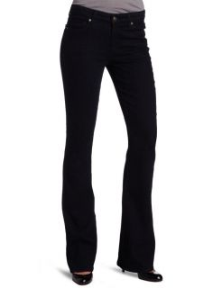 New CJ by Cookie Johnson Womens Grace Boot Cut Jeans Black US 25