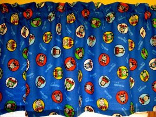 THOMAS THE TANK TRAIN CIRCLE OF FRIENDS KIDS CURTAIN VALANCE 59 W X 17