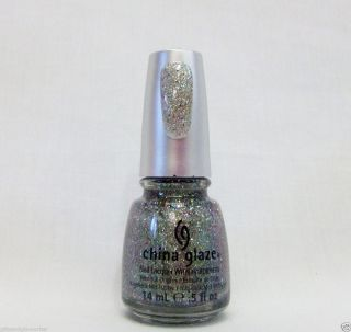 China Glaze Nail Polish Prismatic Holographic 3 D Glitter Ray diant