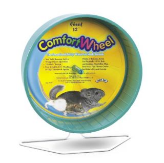 Super Pet Chinchilla Giant Comfort Exercise Wheel Colors Vary