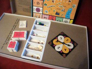 Ten Commandments Bible Board Game 1966 Cadaco Home School Church Decor
