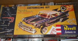 REVELL CHRYSLER NEW YORKER CUSTOMIZING KIT FS Model Car Mountain