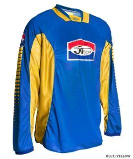 JT Racing Pro Tour Jersey   Blue/Yellow 2012