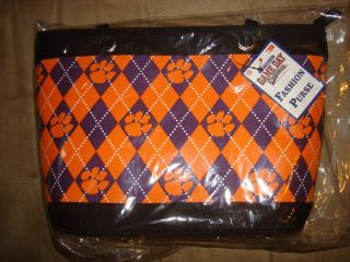 Clemson Tigers Game Day Outfitters Fashion Purse