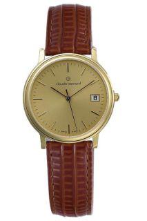 Claude Bernard Classic Gents Mens Gold Watch 70149 37J Di