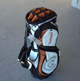 Cleveland Golf Hybrid Stand Bag Burnt Orange