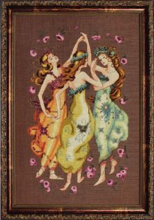 Mirabilia Circle of Friends Cross Stitch Pattern